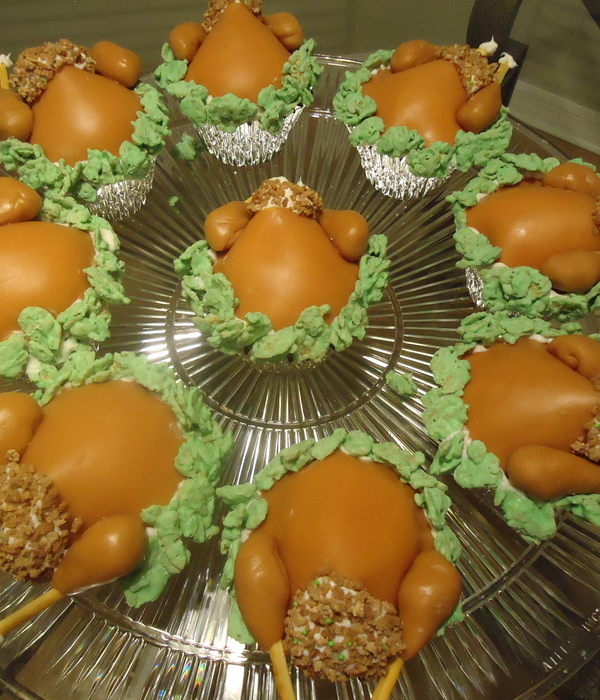 Baby Shower Cakes Rockford Il ~ Thanksgiving cakes cookies and cake pops cakecentral