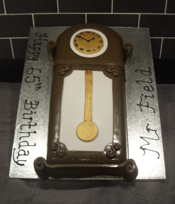 Clock Cake Decorating Photos
