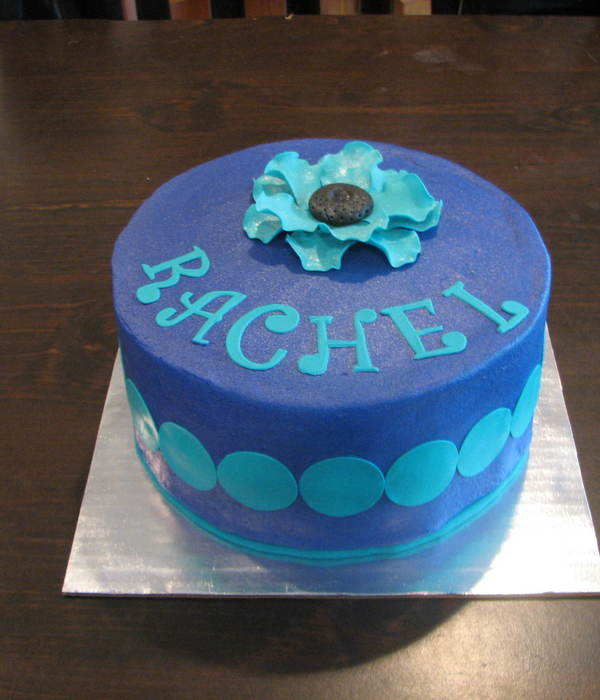 Purple/teal Birthday