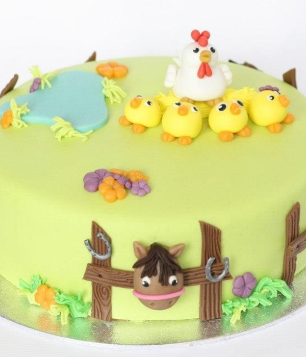 Top Farm Animal Cakes Cakecentral