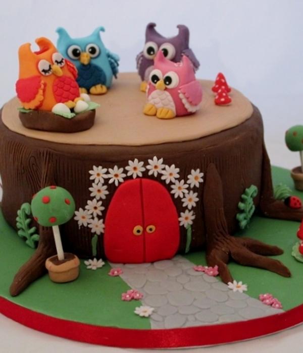 Owl Cakes Are A Hoot CakeCentralcom