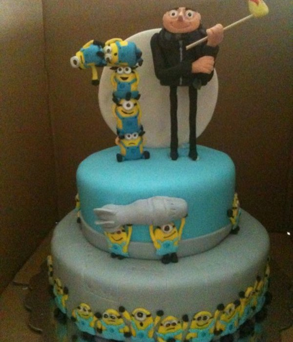 Top Despicable Me Cakes Cakecentral