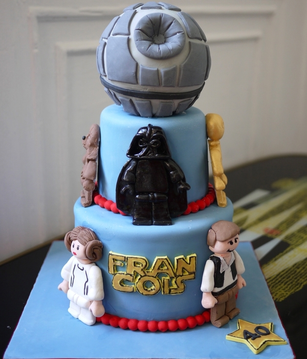 Enjoyable Top Star Wars Cakes Cakecentral Com Funny Birthday Cards Online Overcheapnameinfo