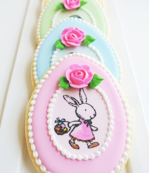 Pretty Pastel Easter Cookies