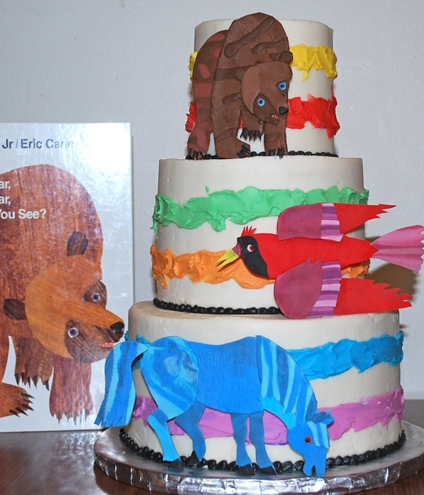 Brown Bear, Brown Bear Cake