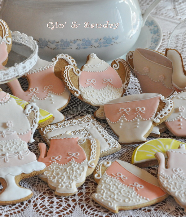 Mothers Day Tea Time Cookies