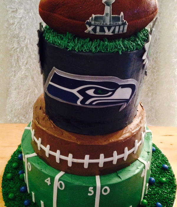 Excellent Top Seattle Seahawks Cakes