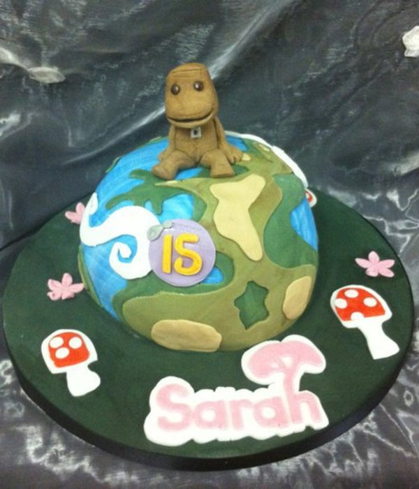 Enjoyable Planet Cake Photos Birthday Cards Printable Riciscafe Filternl