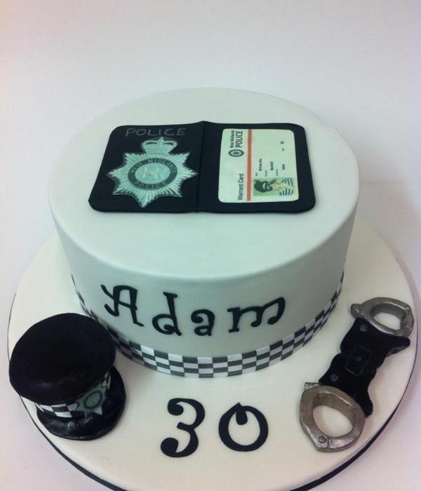 Cake For A Policeman