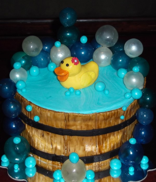 Duck With Gelatin Bubbles