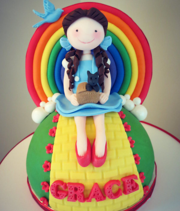 Wizard Of Oz/rainbow/ Poppy/ Cupcake Tower