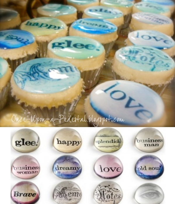 Paperweight Cupcakes
