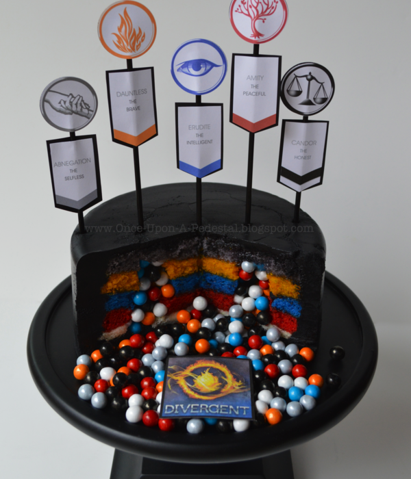 Surprise Inside Divergent Cake Interior With Tutorial And...