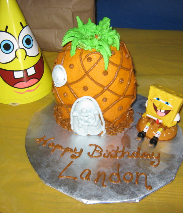 Spongebob Squarepants Pineapple
