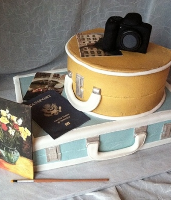 Top Luggage Cakes Cakecentral
