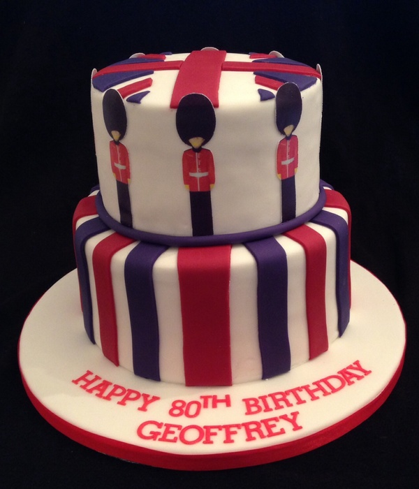 Scots Guardsman Cake The Guardsman Are Printed Onto...