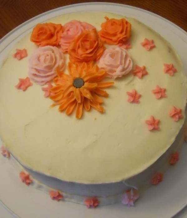Buttercream Flowers First Time