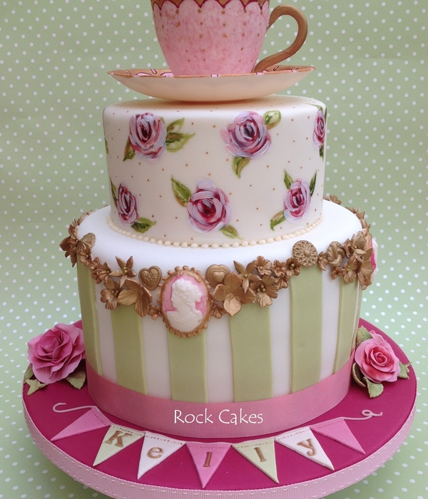 Top Mothers Day Tea Party Cakes Cakecentral