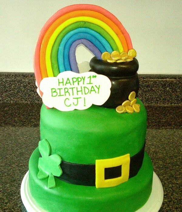 St. Paddy's Day Birthday Cake