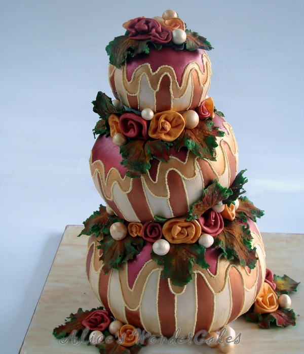 Colette Cake In Autumn Style