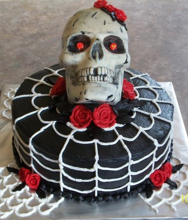 Cool Top Skull Cakes Cakecentral Com Funny Birthday Cards Online Eattedamsfinfo