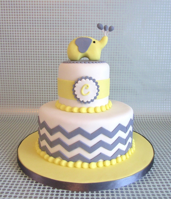 Chevron Baby Shower