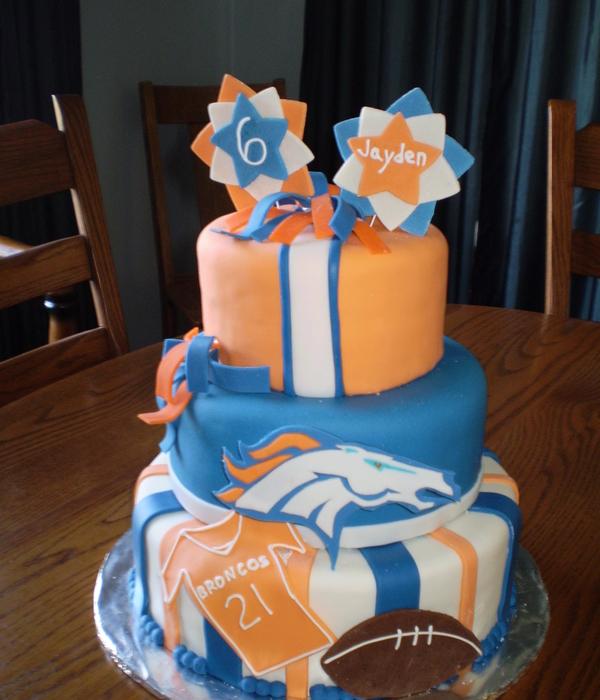 Top Denver Broncos Cakes Cakecentral