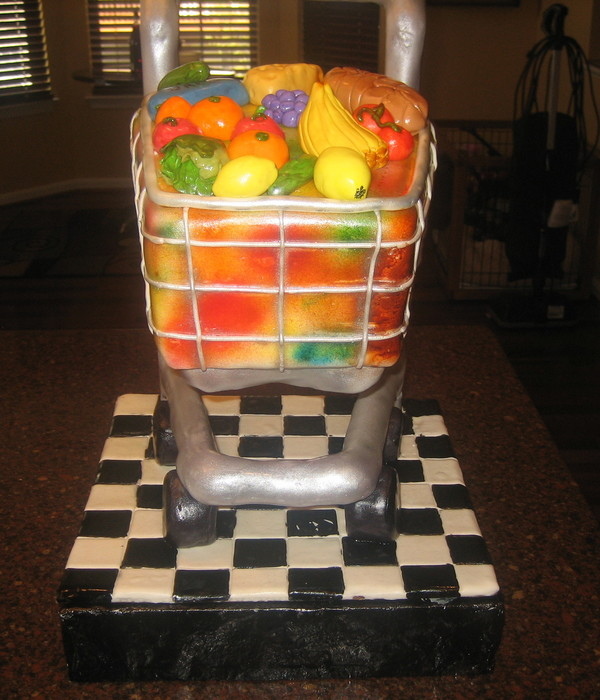 Shopping Cart Cake