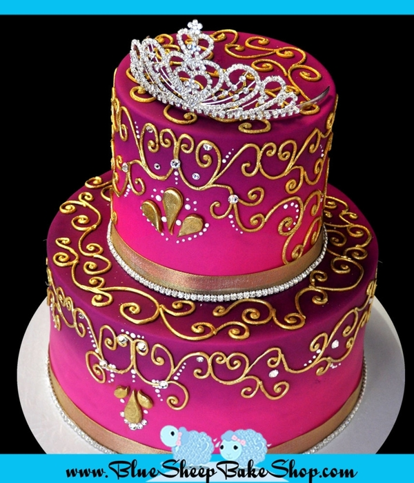 Indian Princess Birthday Cake