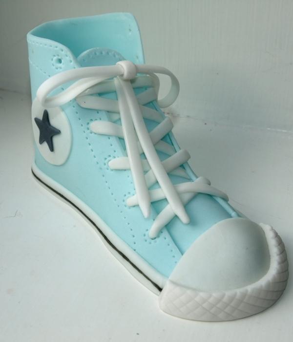 How To Make A Fondant Converse Sneaker Shoe Template