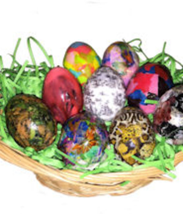 Decoupage Decogelled Easter Eggs...decoeggs!