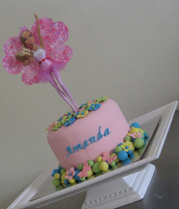 Barbie Fairy Tale Magic Birthday Cake
