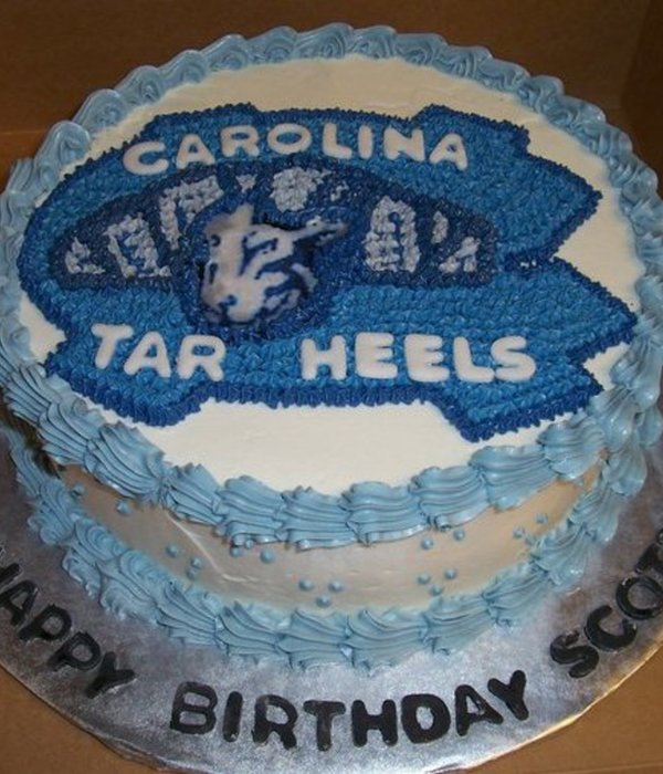 Perfect Cake For The Unc Tar Heels Fan!!
