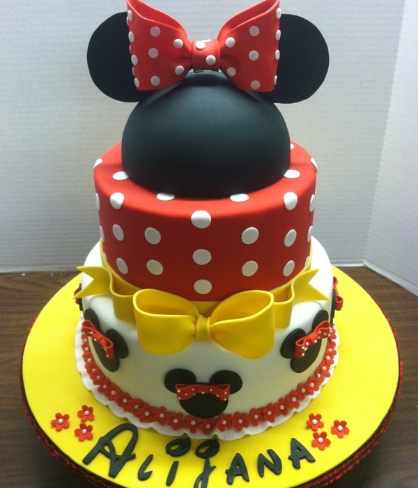 Top 25 Minnie Mouse Birthday Cakes Cakecentral