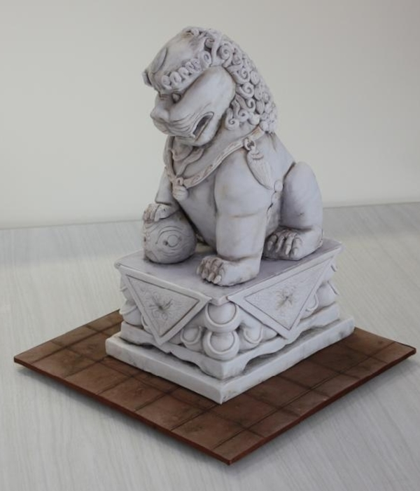 Chinese Lion Dog Statue