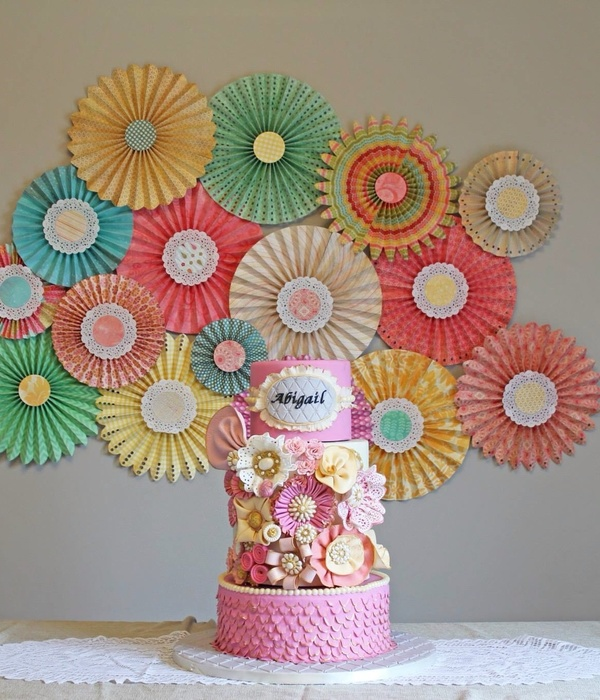 Vintage Inspired Birthday Cake Three Tier Cake With An...