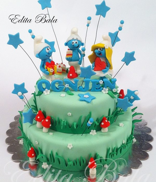 Top Smurfs Cakes Cakecentral