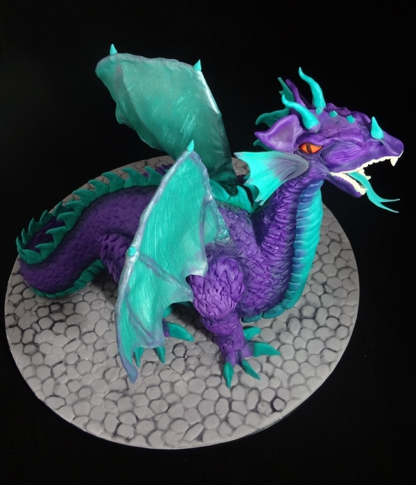 3D Scupted Dragon