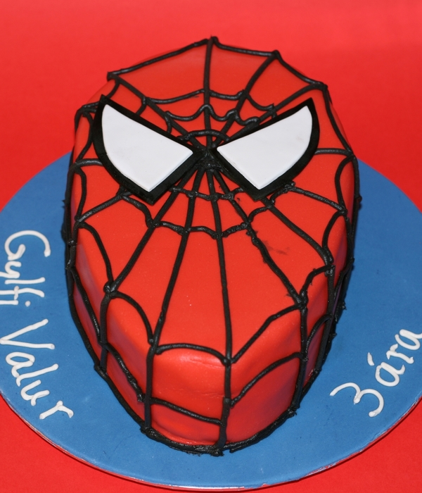 spiderman cake decorating photos. Black Bedroom Furniture Sets. Home Design Ideas