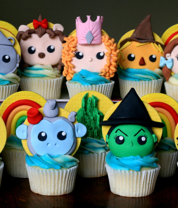 The Wizard Of Oz Cupcakes