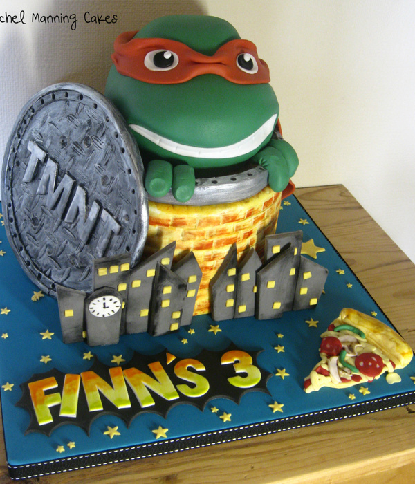 Teenage Mutant Ninja Turtles Cake Tmnt