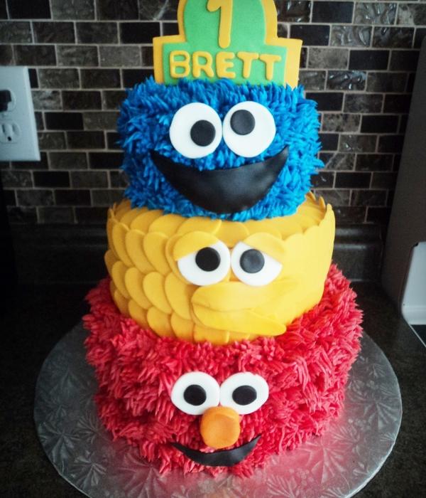 Top Sesame Street Cakes CakeCentralcom