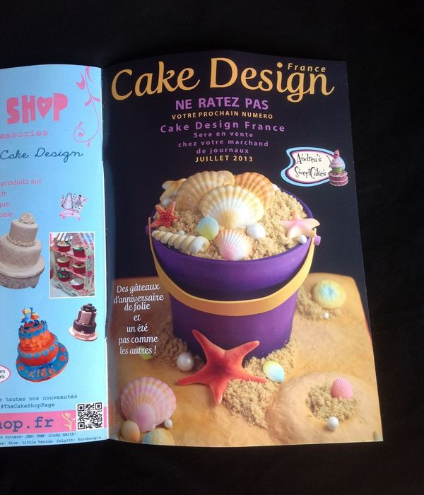 Andrea's Sweetcakes Sand Bucket Cake Tutorial In Cake...