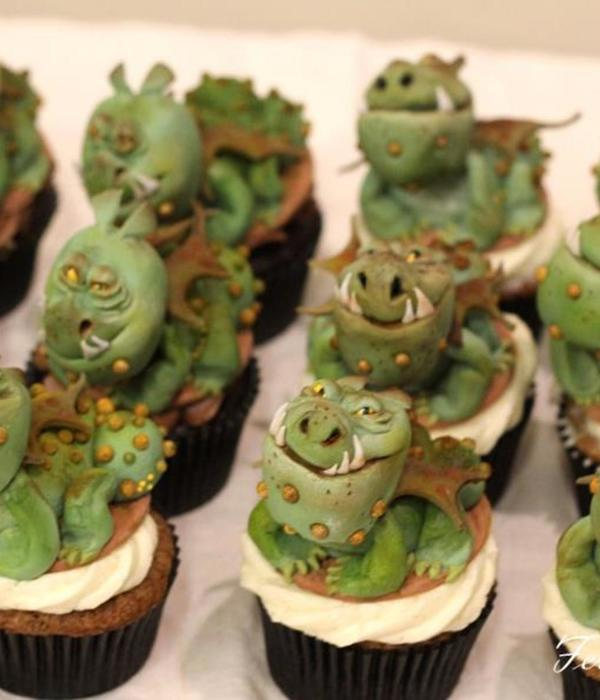 """how To Train Your Dragon"" Cupcakes"