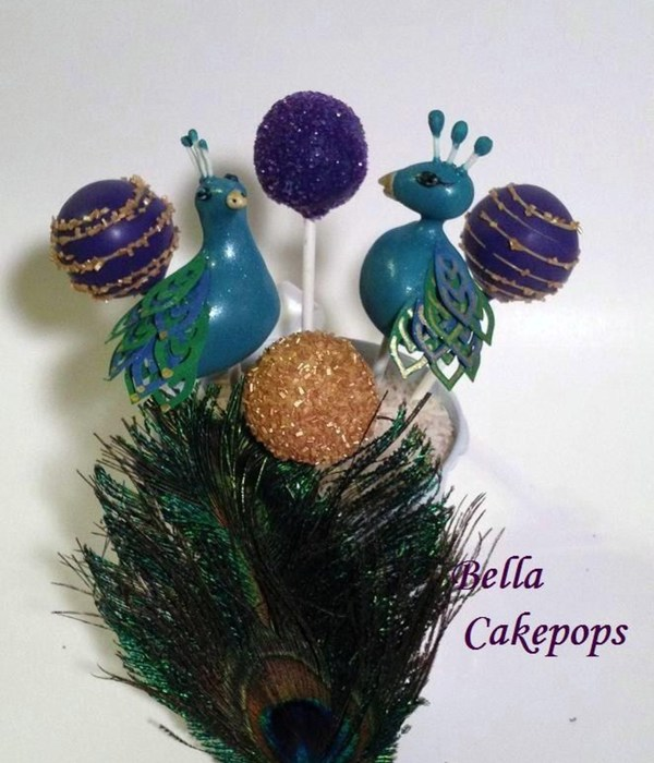 Pea**** Themed Cake Pops