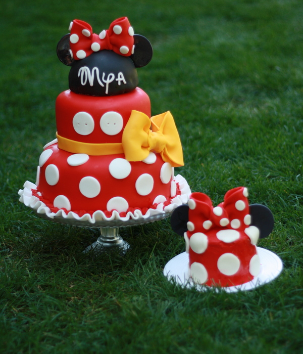 Prime Top 25 Minnie Mouse Birthday Cakes Cakecentral Com Funny Birthday Cards Online Overcheapnameinfo