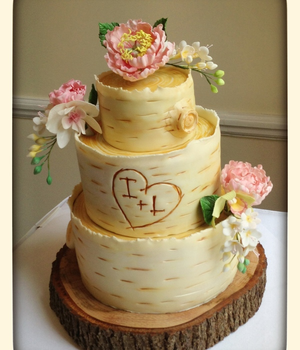 Woodland Wedding Cake, Inspired By The Super Fantastic...