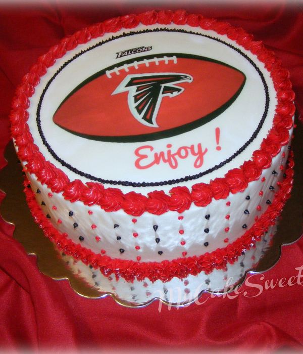 Birthday Cakes Atlanta Falcons Cakecentral 259