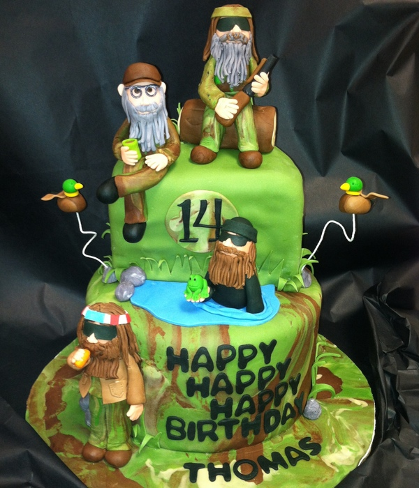 Duck Dynasty Cake For Thomas