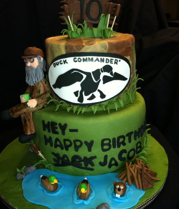 Duck Dynasty Uncle Si Birthday Cake